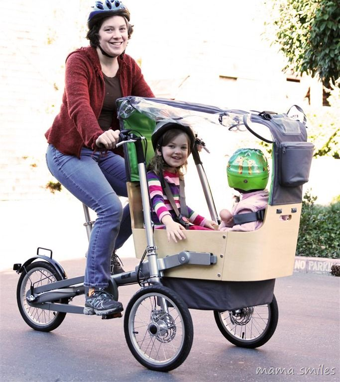 This is awesome! Taga Child Carrier Bike and Luxury Baby Stroller ...
