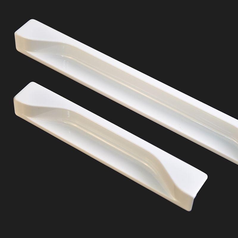 Modern White Recessed Edge Pull · Cabinet HandlesModern CabinetsHardware