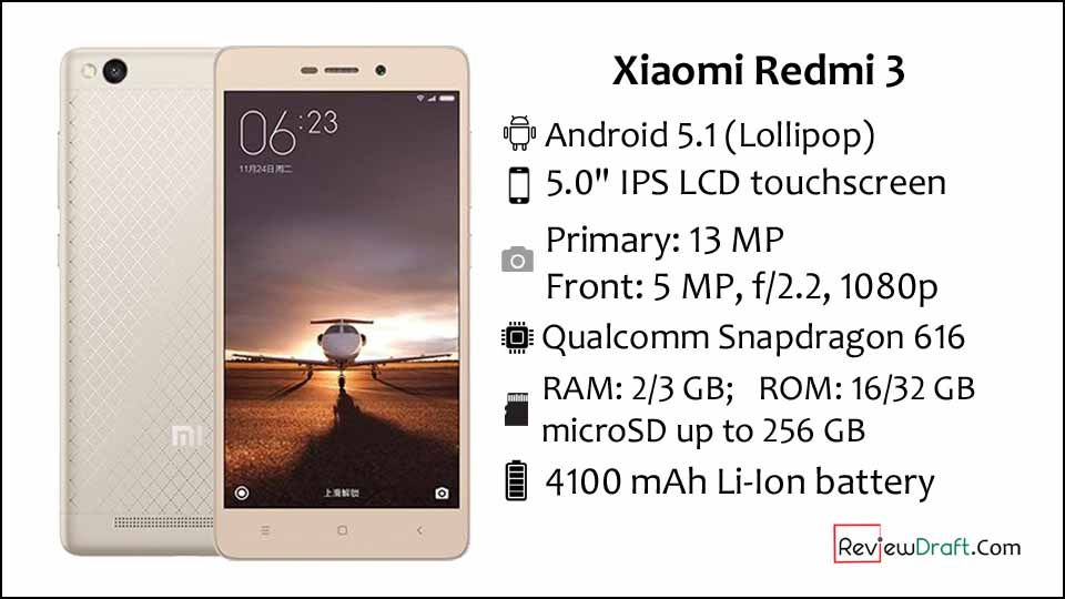 Xiaomi Redmi 3 Price In Bangladesh Full Specification Review Draft Xiaomi Android Smartphone Phone