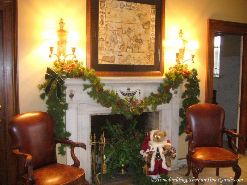 Fireplace Design fireplace christmas decorations : How To Decorate A Fireplace. Surprising Corner Fireplace Mantel ...