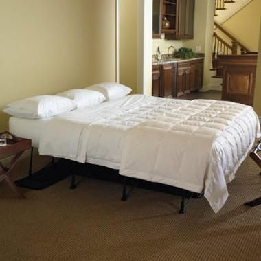 i luv that this lifts off the floor essential ez bed inflatable guest bed frontgate - Ez Bed