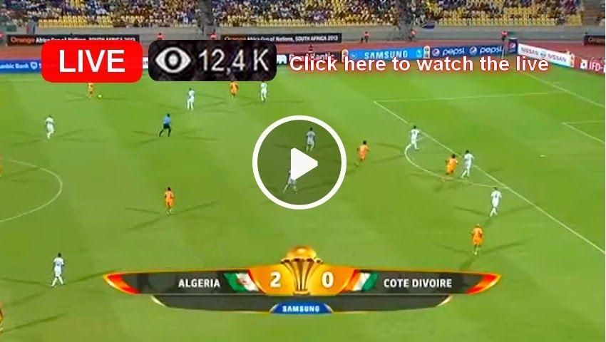 En direct Algérie vs Côte d'ivoire CAN 2019 Tv live