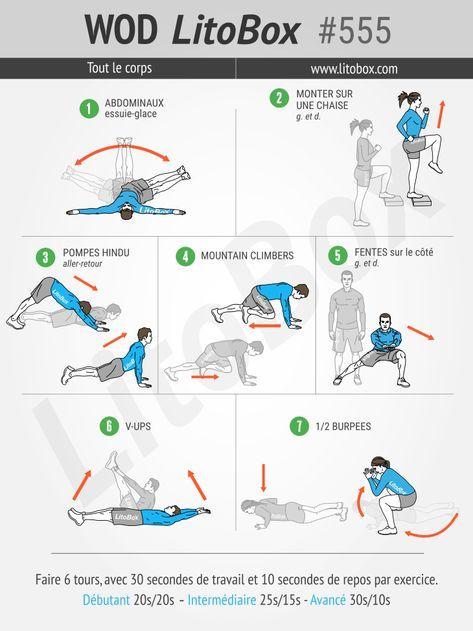 Des exercices de musculation à réaliser sans matériel pour