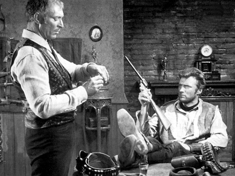 """For A Few Dollars More...""""Squintin' Clint"""" Eastwood!!"""