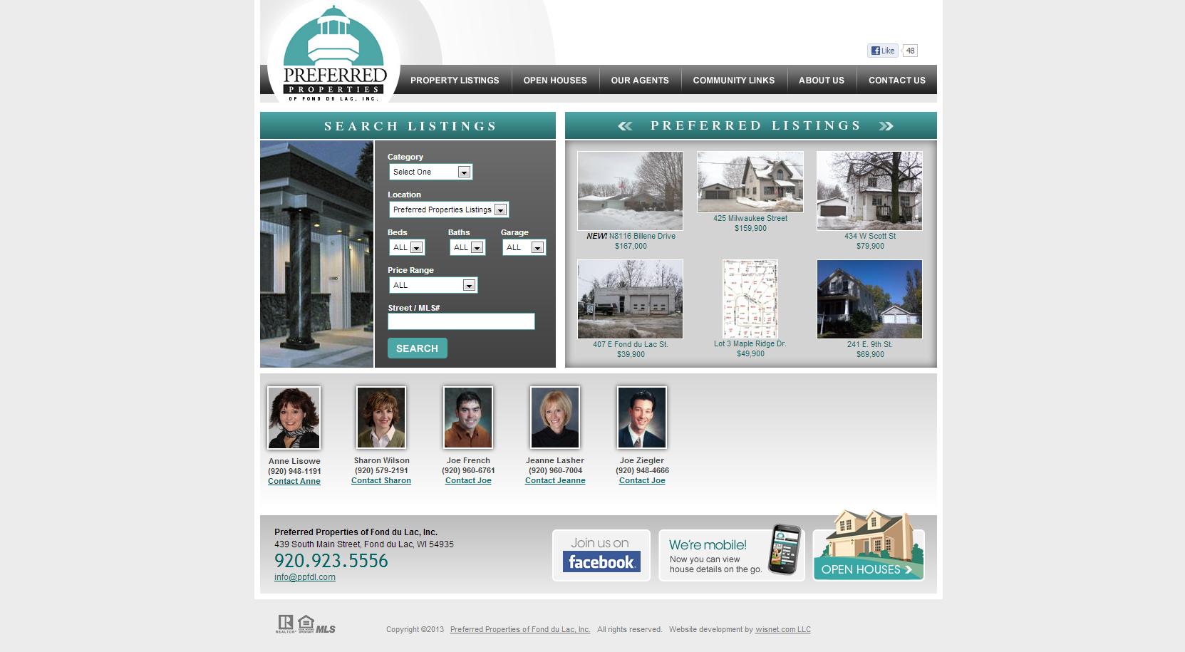 Preferred Properties of Fond du Lac, Inc. | Portfolio | Pinterest