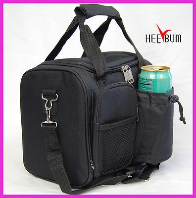 bed39bba21 Insulated Lunch Bag Men s Women s Long Shoulder Strap Soft Lunch Box Large  Size