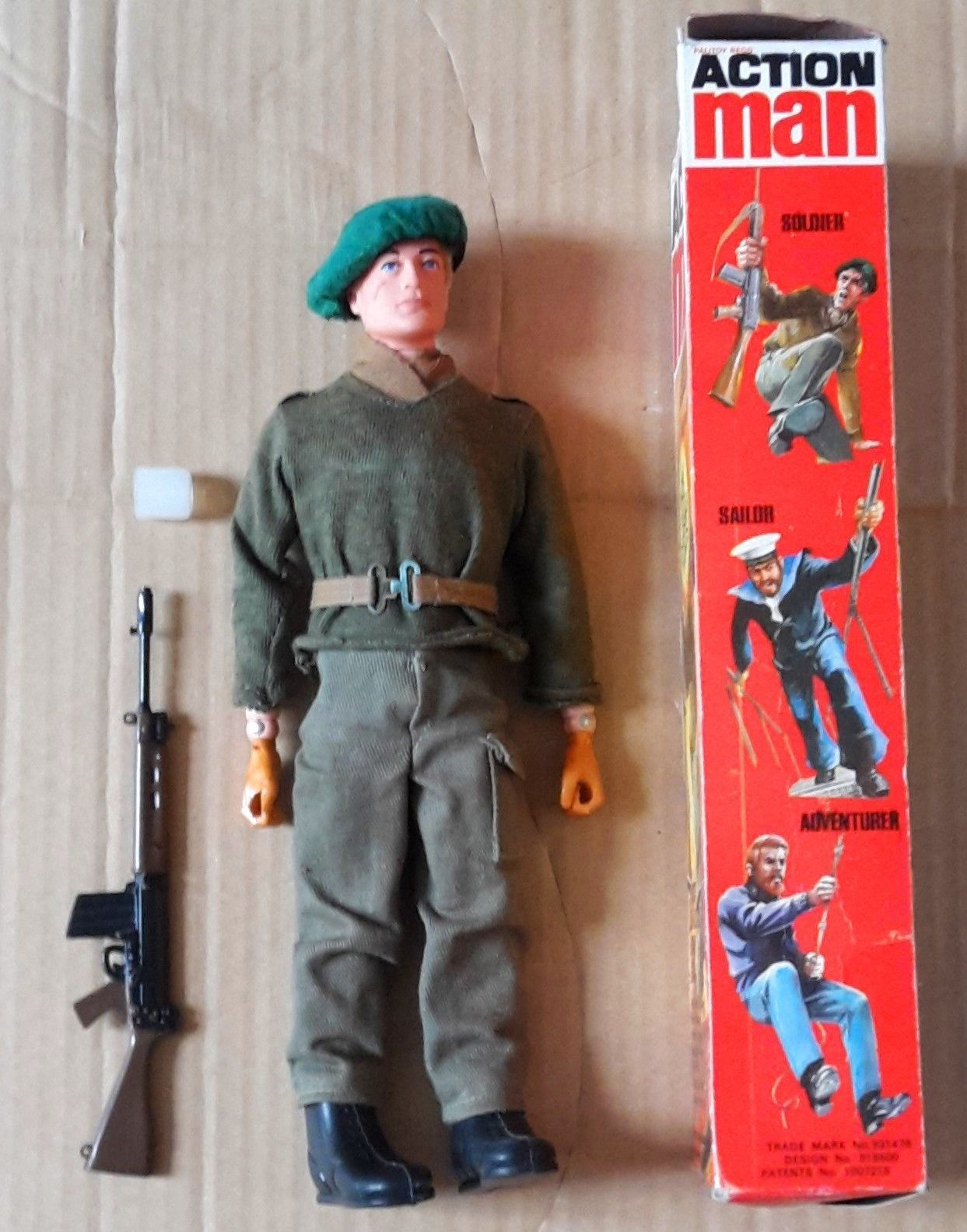 Original Palitoy Vintage 70 S 2nd Issue Soldier Figure With