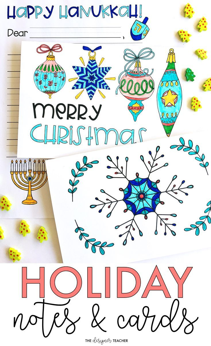 Holiday Cards And Notes Holiday Activity Friendly Letter