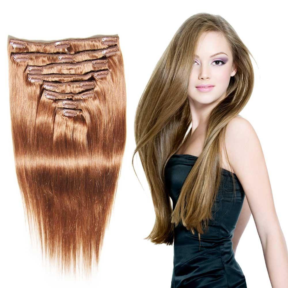 Nadula Full Head Virgin Brazilian Best Clip In Hair