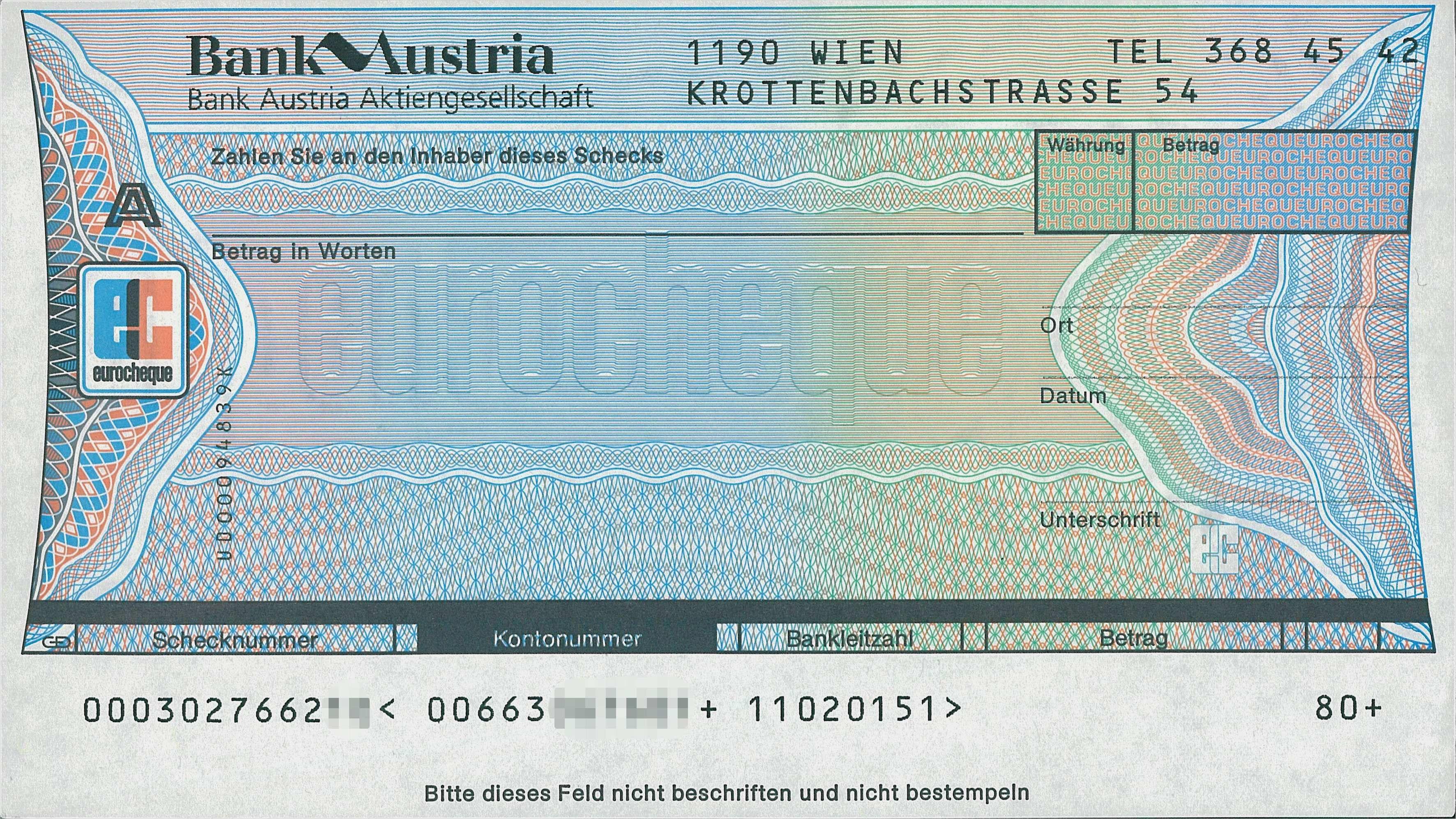 Sparkasse Spendenscheck Pr Scheck Bankenscheck 1