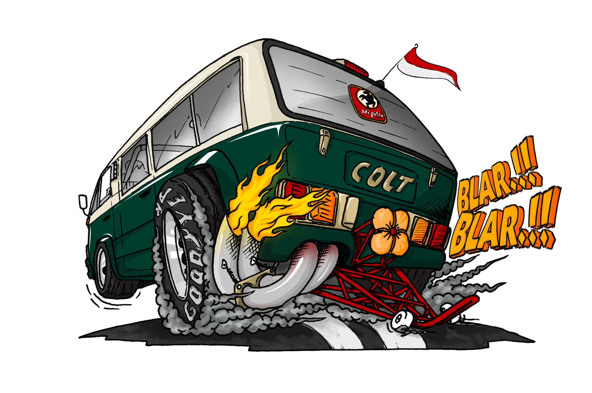 Pin Di Custom Van