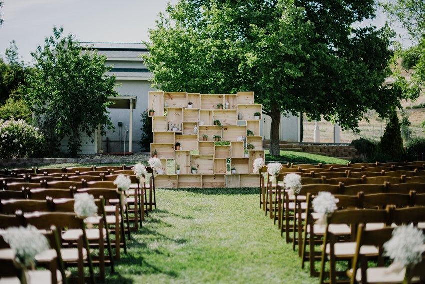 Outdoor wedding backdrops wedding gallery an intimate outdoor wedding full of romance diy details solutioingenieria Image collections