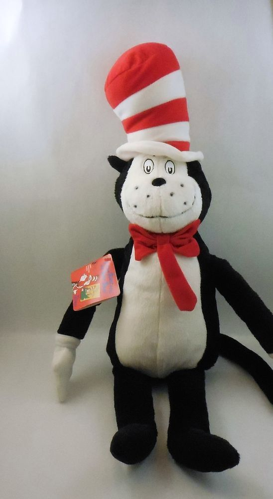 Kohls Cares For Kids Dr Seuss Cat In A Hat Plush Stuffed Toy Animal