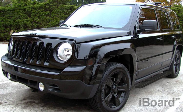 Iboard Running Boards 4 Inches Matte Black Fit 07 15 Jeep Patriot Jeep Patriot Jeep Patriot Accessories Jeep Patriot Sport