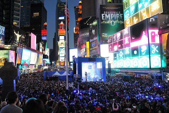 Nokia NYC launch in Times Square