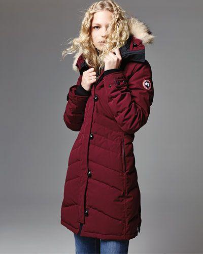 CANADA GOOSE Lorette Fur-Hood Down Parka. #canadagoose #cloth #