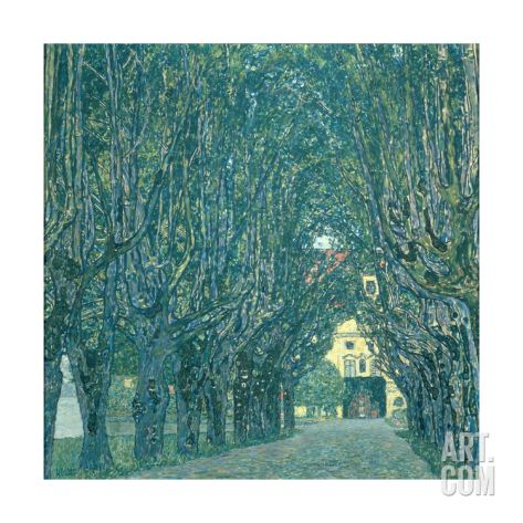 Avenue in the Park of Schloss Kammer, 1912 Giclee Print by Gustav Klimt at Art.com