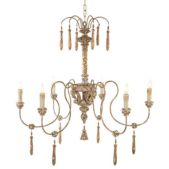 The toole chandelier is from aidan gray a line that represents a love for interiors design and authentic products that exude european grandeur