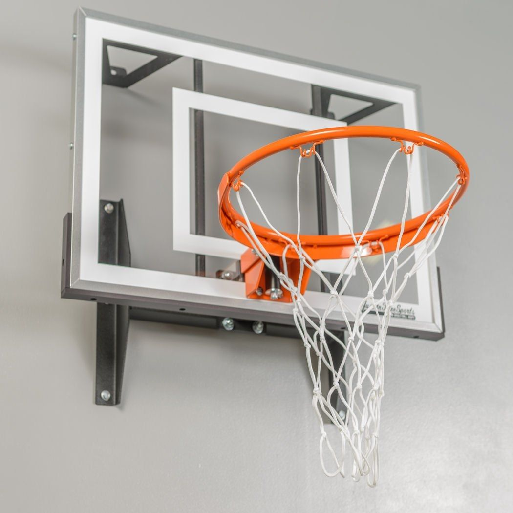 Wall Mounted Indoor Mini Basketball Hoop | For the grandkids | Pinterest