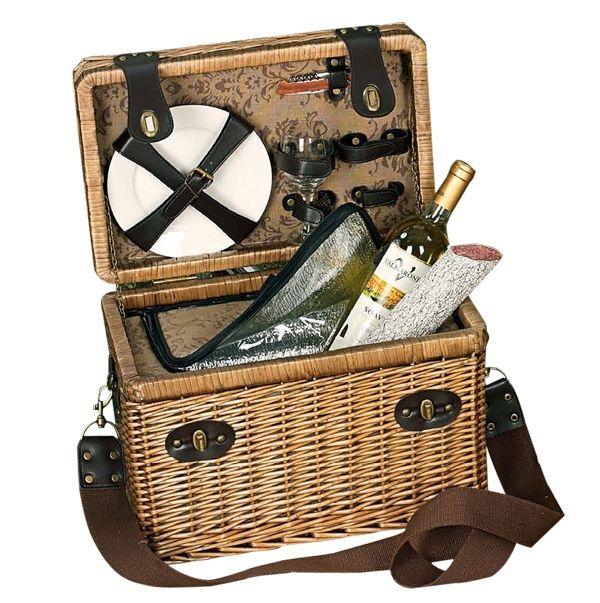 picknickkorb toskana 2 personen geschenke zur hochzeit pinterest geschenk hochzeit. Black Bedroom Furniture Sets. Home Design Ideas