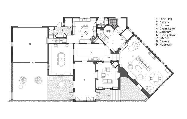 Projects Planos De Casas Estilo Espanol Casas Con Piscina