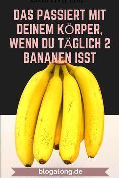Photo of Das passiert mit deinem Körper, wenn du täglich 2 Bananen isst