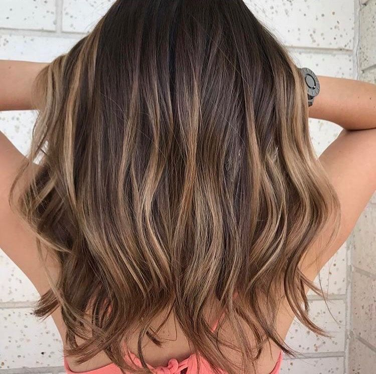Brunette Highlights Hair