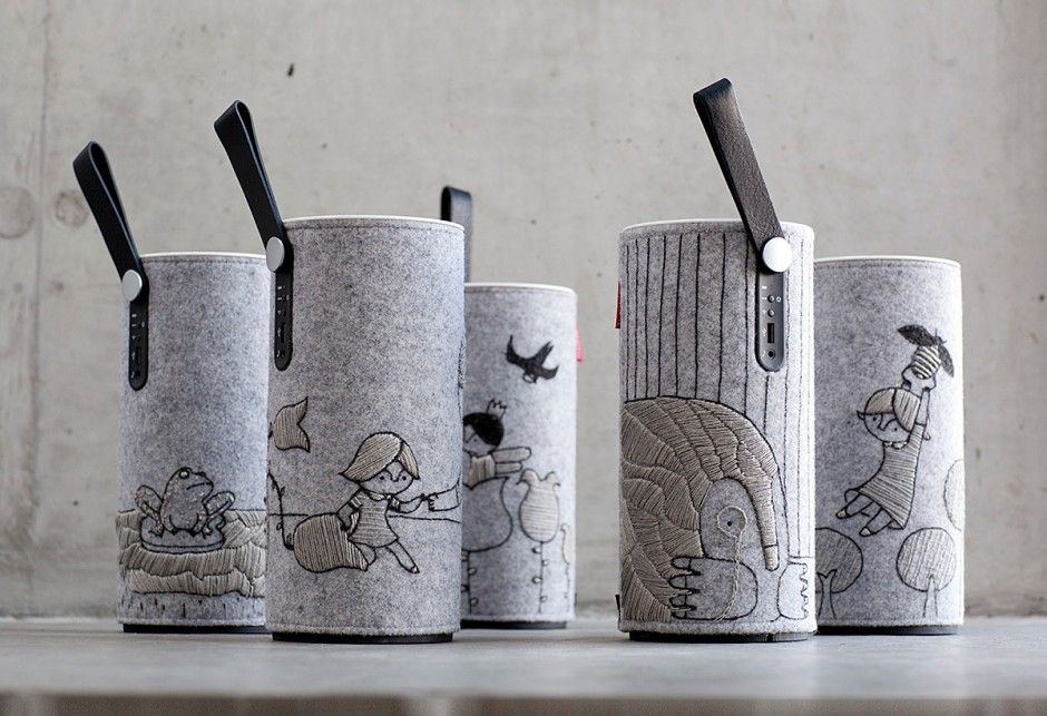 Libratone speaker, Fairytale Edition.