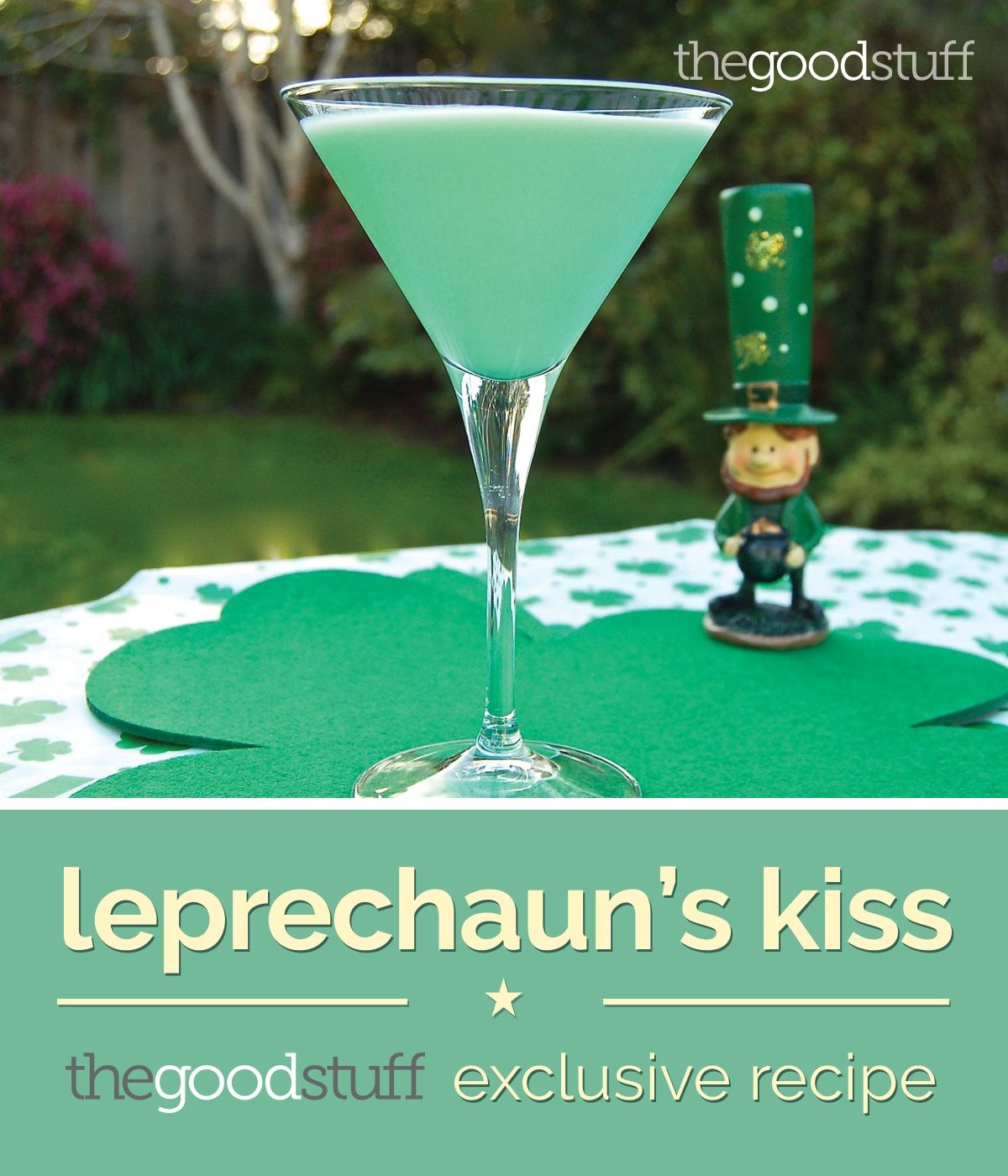 Leprechaun's Kiss St. Patrick's Day Cocktail