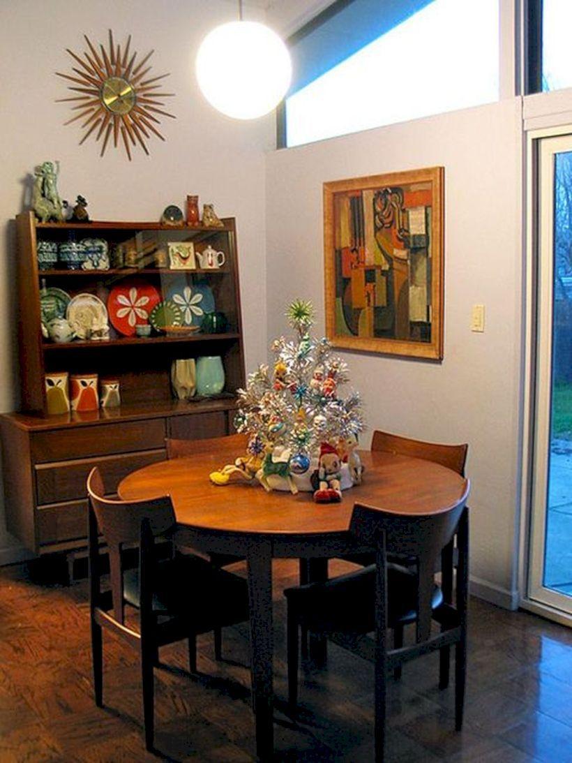 47 Attractive Mid Century Living Rooms Design Ideas   Mid century modern dining room, Dining ...