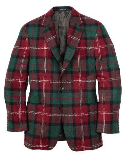 Harris Tweed sport coat, Stewart Tartan | Bills Khakis