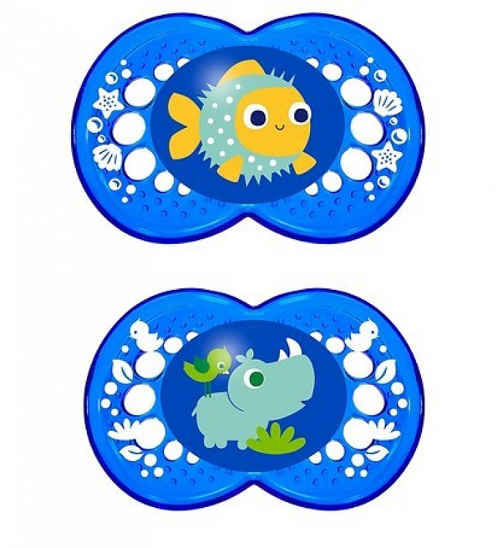 Nuk Pacifier Orthodontic 0-6 Months Silicon Soother Baby Infant Frog New