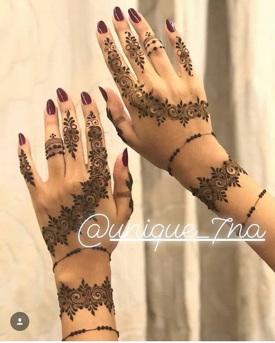 Follow Deniseyavash شرااايكم الله يحقق أمنية كل من حطت لايك حسابي برعاية Modern Henna Designs Henna Designs Hand Beautiful Henna Designs