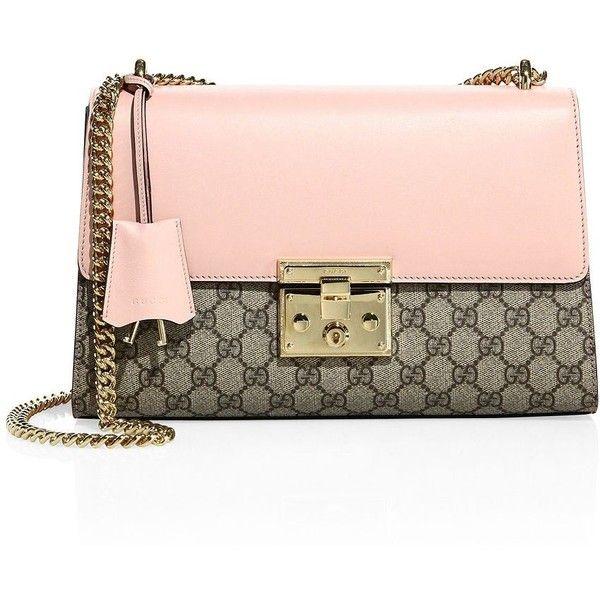 435c441314f Gucci Medium Padlock GG Supreme Leather Shoulder bag ( 1