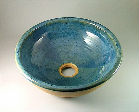 This Wheel Thrown Pottery Sink Would Be A Beautiful Addition To Any Space.  It