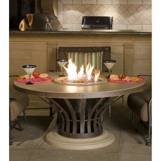 Check out the American Fyre Designs 775 Fiesta Dining Firetable  priced at $2,590.00 at Homeclick.com.