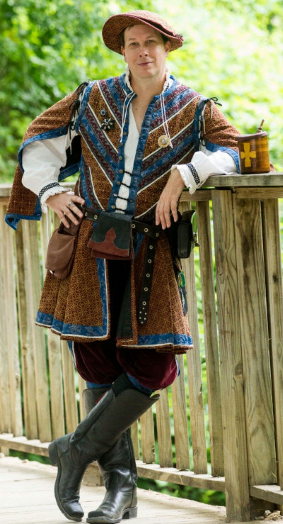 Scarborough Fair Tx Renaissance festival men\u0027s costume