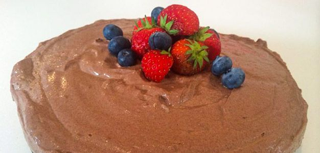 Bodybuilding.com - Post-Workout Chocolate Protein Cheesecake