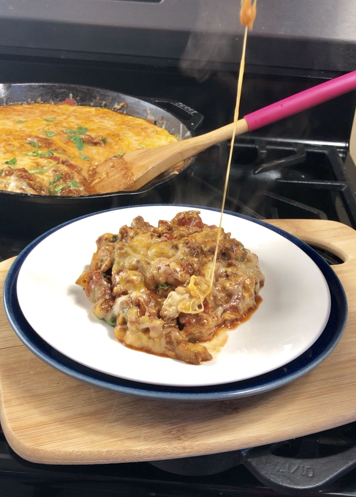 Cheesy Ground Beef Keto Taco Skillet By Pink Ground Beef Keto Recipes Ground Beef Ground Beef Recipes