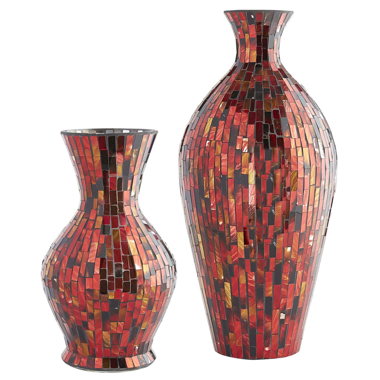 Red mosaic vases pier 1 imports jarrones decorativos red mosaic vases pier 1 imports floridaeventfo Choice Image