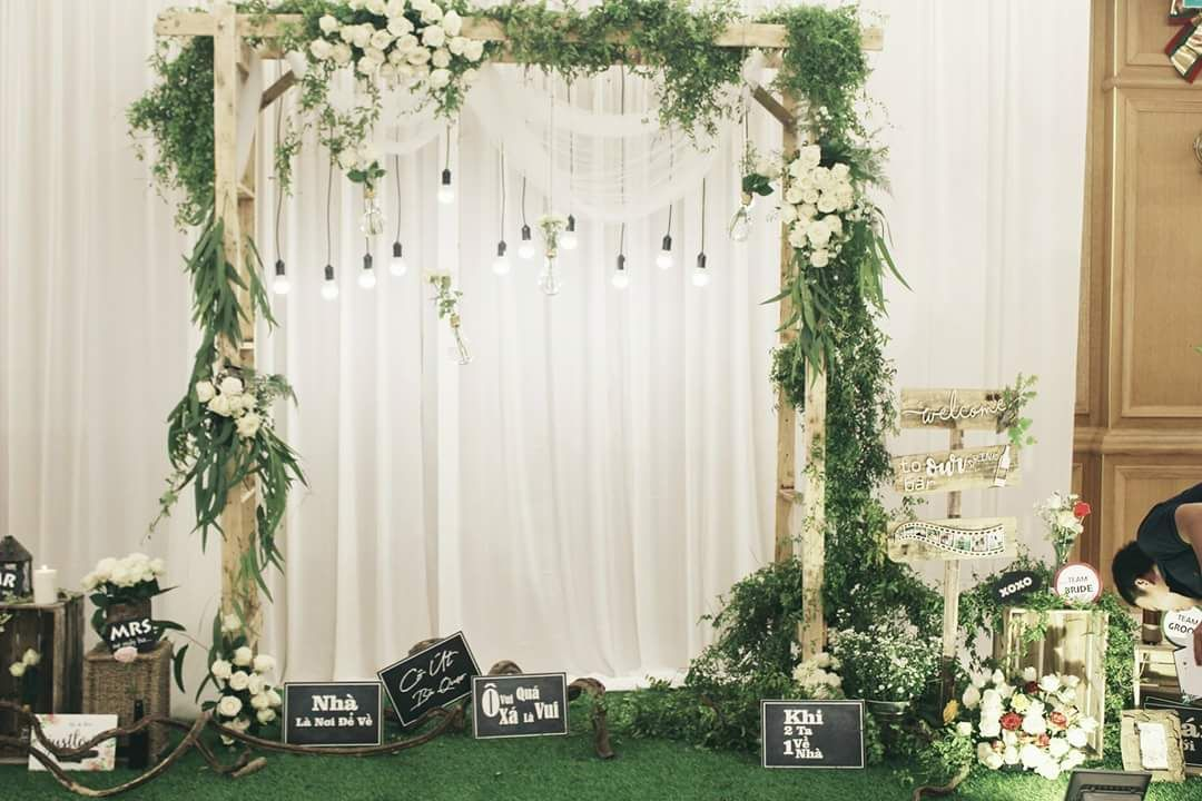 Image result for rustic engagement decor