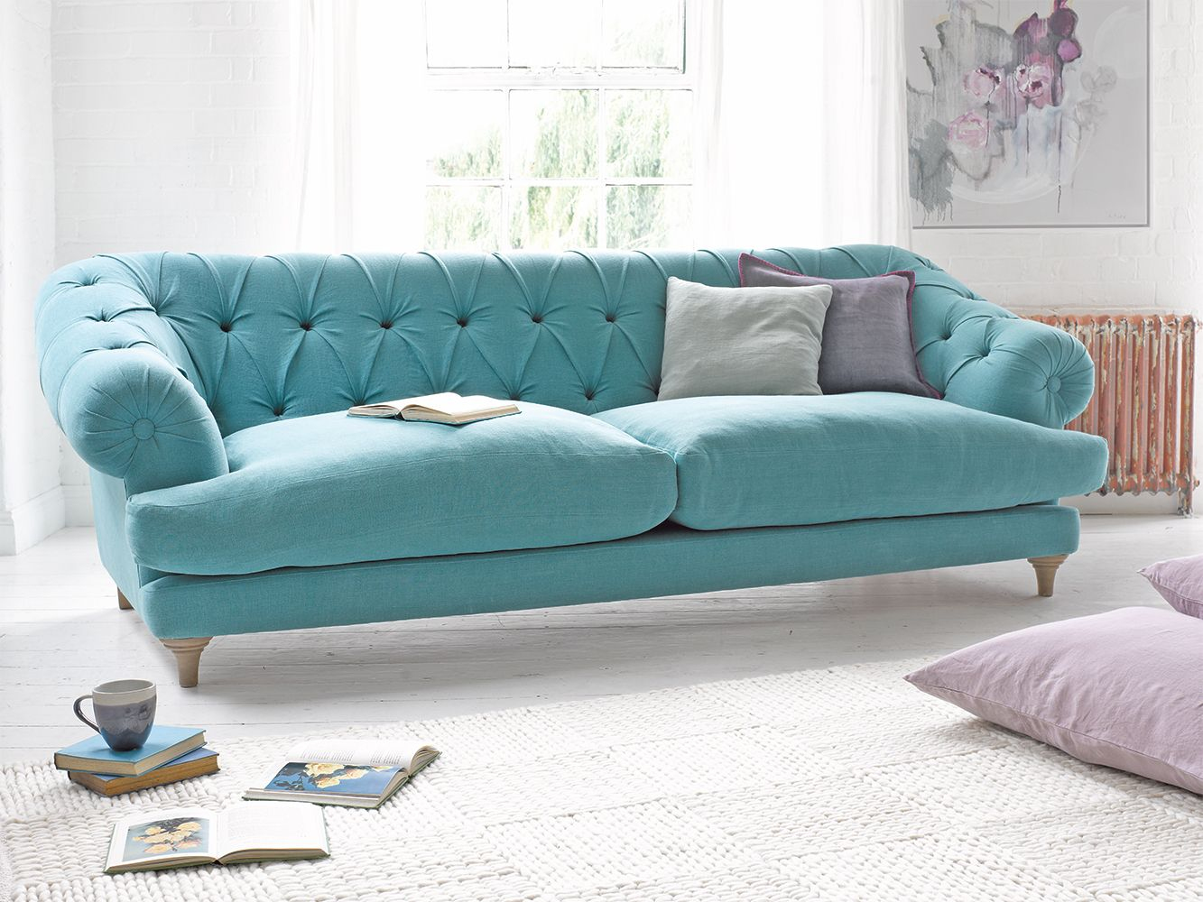 Bagsie Sofa Chesterfield style sofa, Sofa bed uk