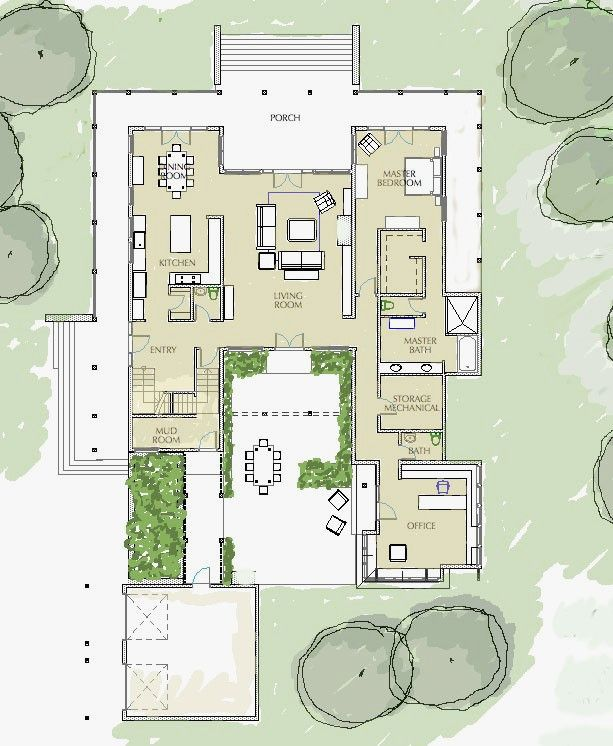 Mexican Hacienda Style House Plans Fresh Mexican Style Homes Plans Unique Mexican Hacienda Style H Building A Container Home Courtyard House Modern House Plans
