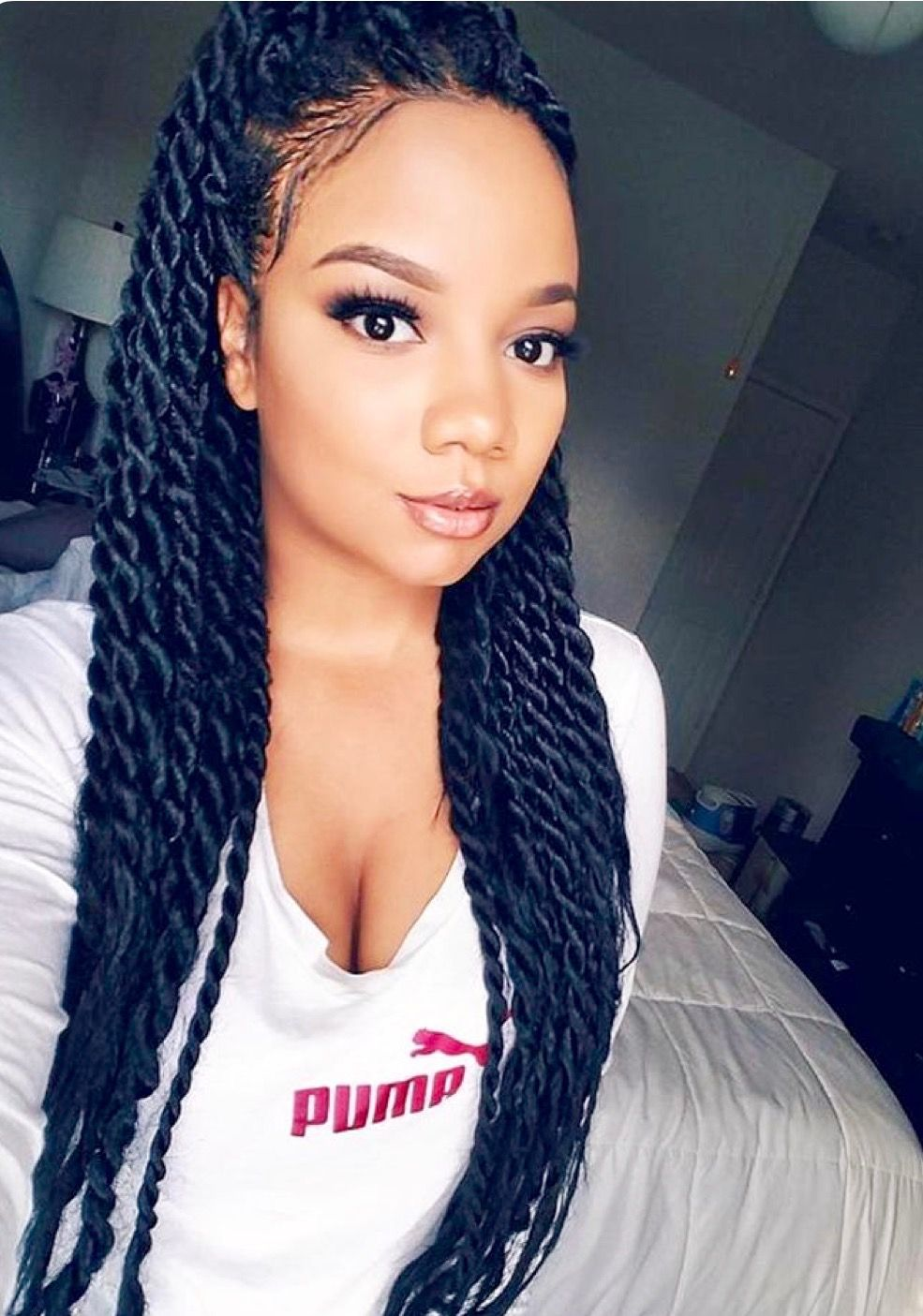 senegalese twists cred: pinterest   braids, weaves, and wigs