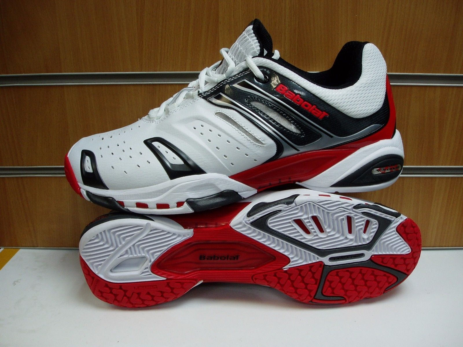 #Babolat team clay 4 mens #tennis shoe size uk 12,  View more on the LINK: 	http://www.zeppy.io/product/gb/2/272422555368/