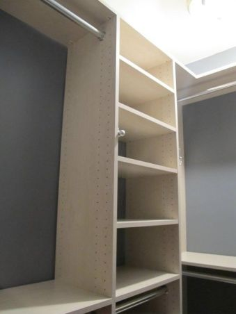 Extra Closet Space Ideas | To Work Around An Existing None Working Door In  The Space