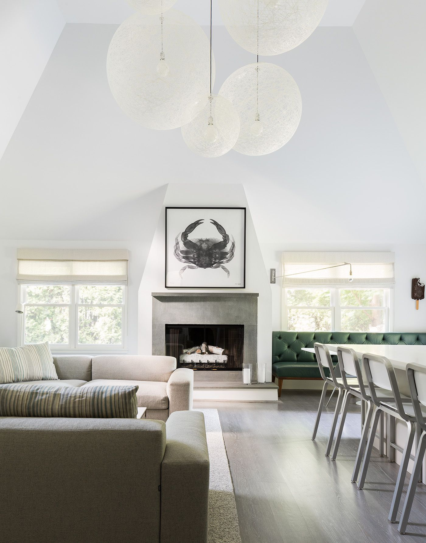 An exceedingly elegant setting for Moooi Random Lights | East ... for Moooi Random Light Bedroom  45jwn