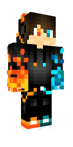 Fire And Ice Minecraft Skins Cool Minecraft Skins Fire And Ice