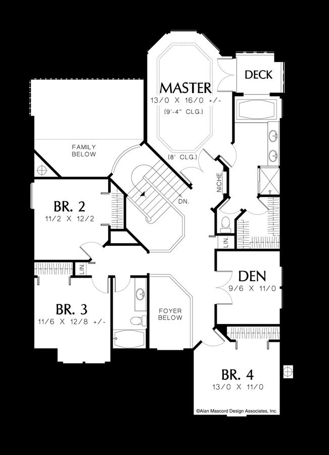 Plan 2201 The Barnhart House Plans European House European House Plan