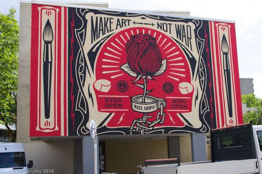 Shepard Fairey, Make Art Not War